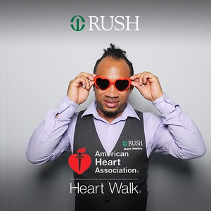 Rush AHA Walk Event Day 1