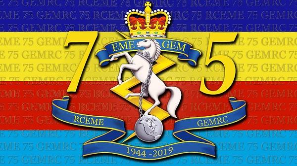 RCEME 75th