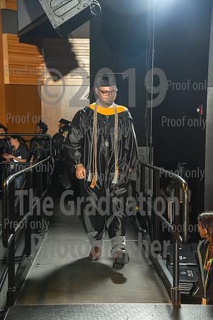 Ceremony One Grads Walking December 14th 2018