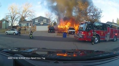 W. Maplewood Dr. House Fire
