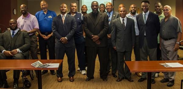100 Black Men of Jacksonville Pinning Ceremony Sept 24, 2015