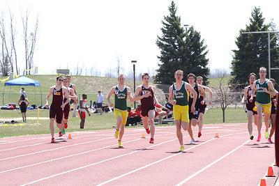 Men's 800 Meter - 2013 CMU Lyle Bennett Open