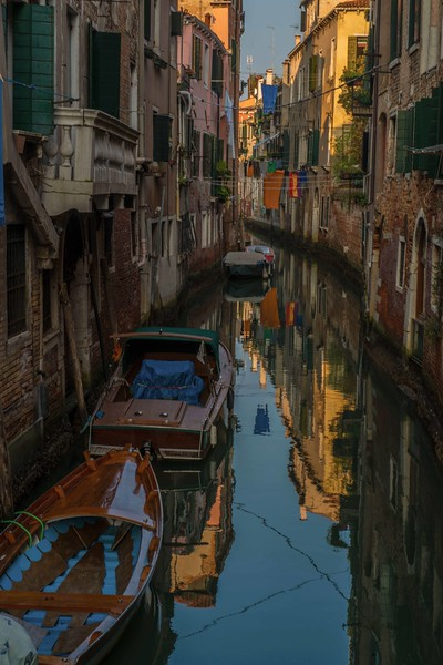 Small canal off the Grand Canal, Venice