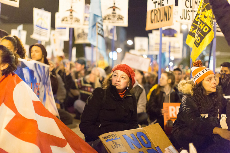 Protests Marches Vigils copyright Sam Breach 2016-20170126 - T48A0467 -We Resist No KXL no DAPL - photographed by Sam Breach 2017.jpg