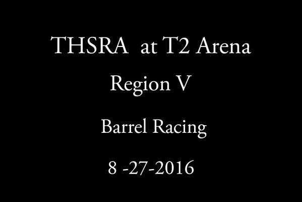 Saturday  'Barrel Racing'