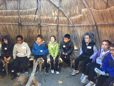 Grade 3 at Plimoth Plantation