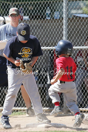 Muckdogs vs Riverdogs Partial Game