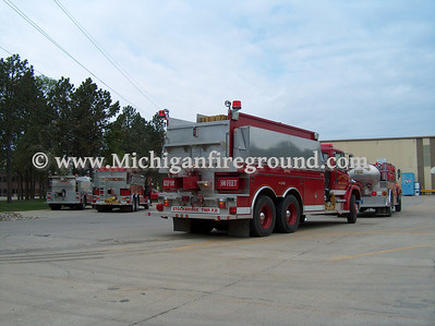 4/30/06 - Ingham County Tanker Task Force training exercise