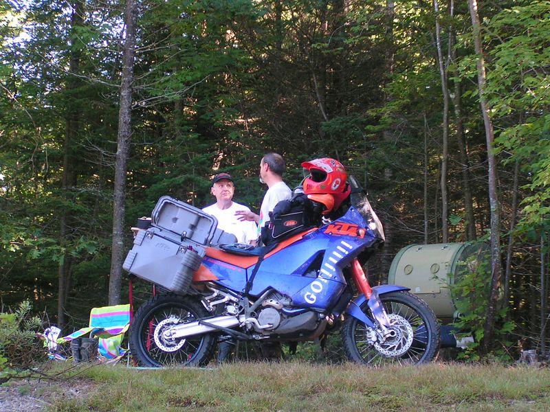 303 Daniel & his KTM, Quebec.JPG