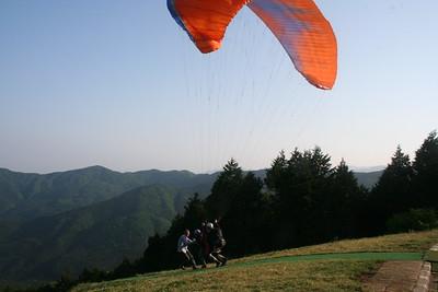 Paragliding in Saitama