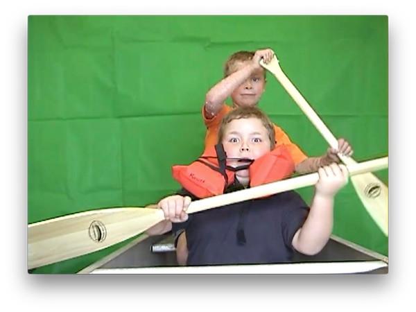 Alex & Kaden Canoe