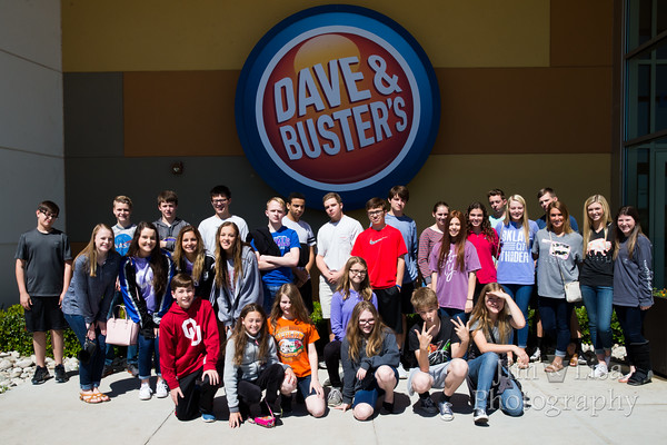 Jog-a-thon Reward at Dave & Busters, May 3