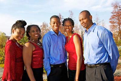 Fanta Jones and Family