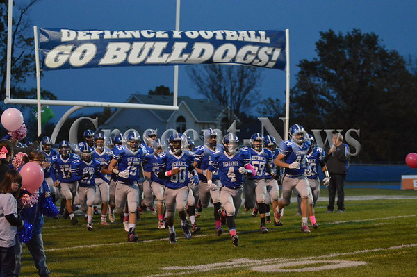 10-23-15 Sports Van Wert @ Defiance FB