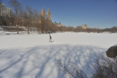 CROSSING CENTRAL PARK LAKE