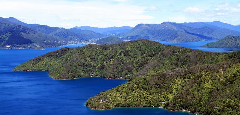 Waikawa and Picton views