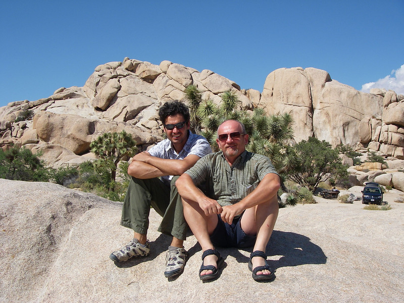 Joshua Tree National Park is located in South-eastern California