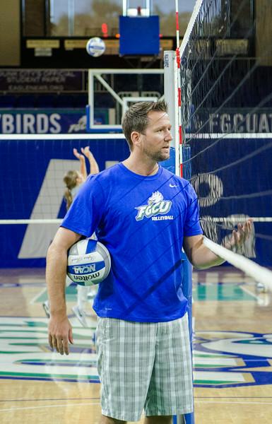 FGCU Volleyball Practice 8/22/14