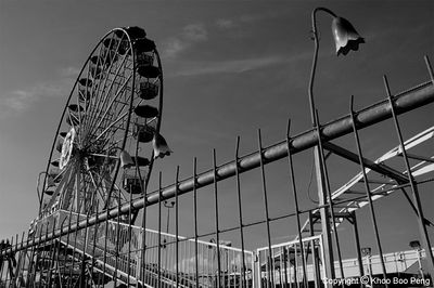 Euro Fun Park @ Bandar Utama (in black&white)