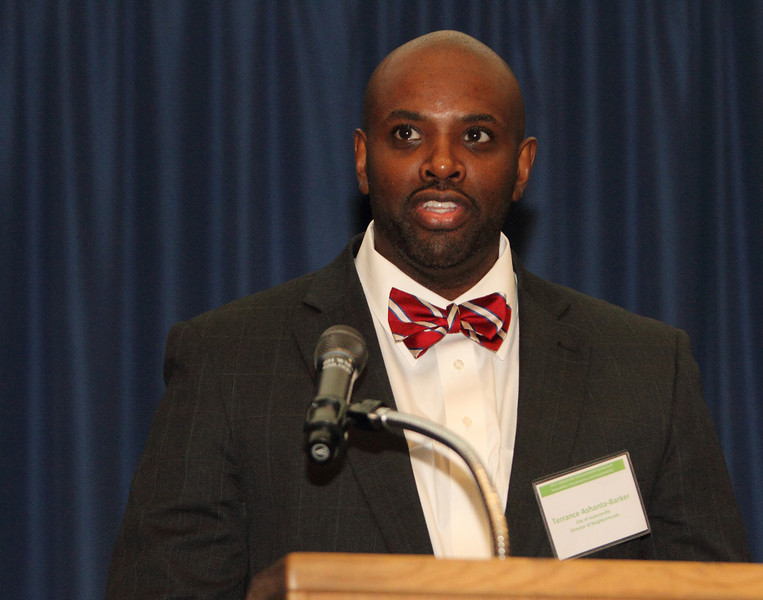 Terence Ashanta-Barker, Director of Neighborhoods, provided opening remarks.