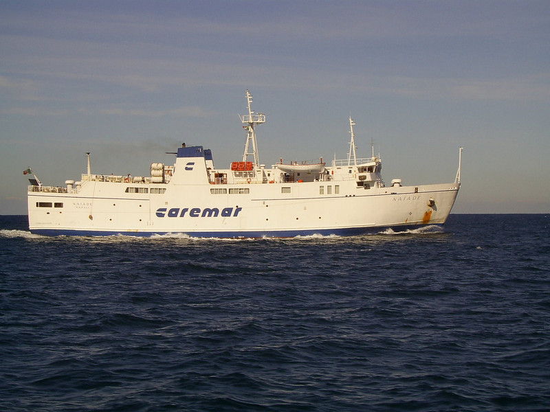 2007 - F/B NAIADE at sea.