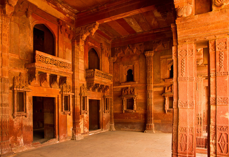 Jodha Bai's quarters.
