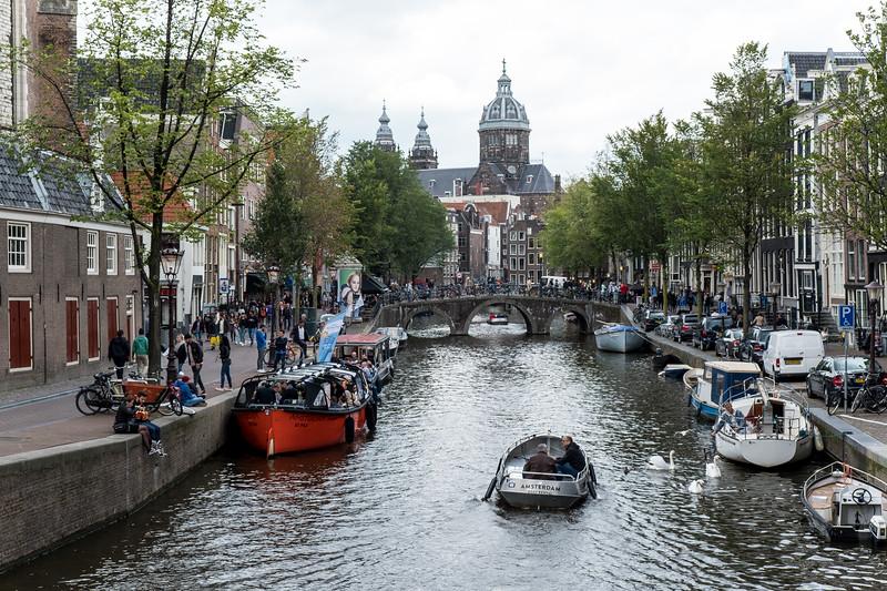 Canal Overlooking Oudezijds Voorburgwal