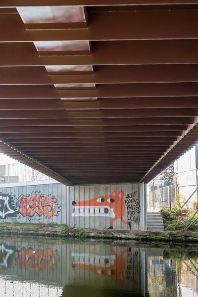 Lee River Navigation, Hackney, E9, London, United Kingdom