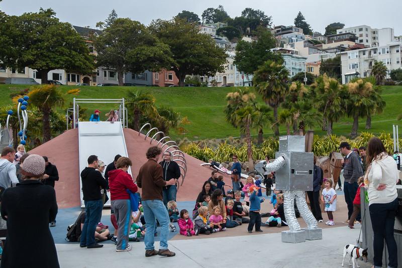 #robotdanceparty
