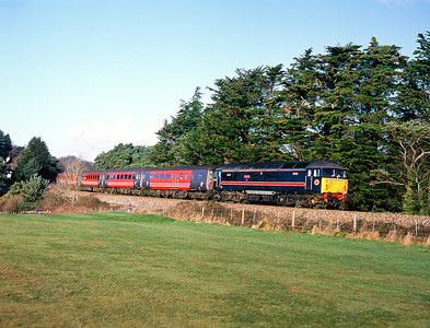 Loco hauled in Cornwall