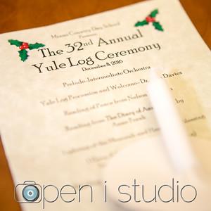 2016 Yule Log Ceremony
