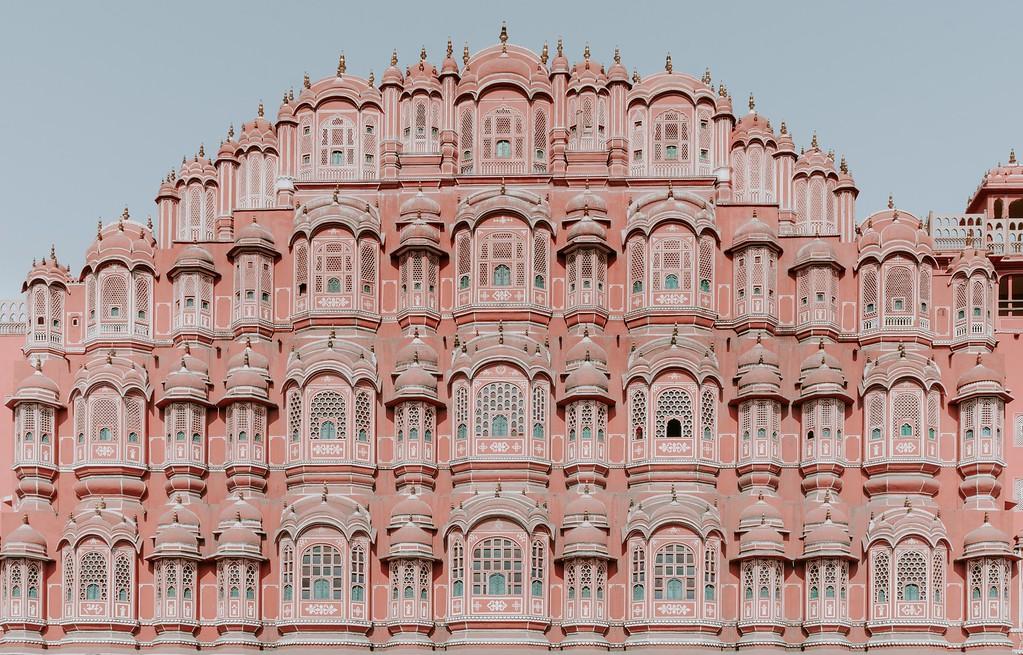 Jaipur Pink City in India - Vegan India Adventure trip to North India