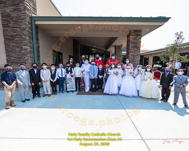 2020-08-29 HF 1st Holy Communion 1PM Group