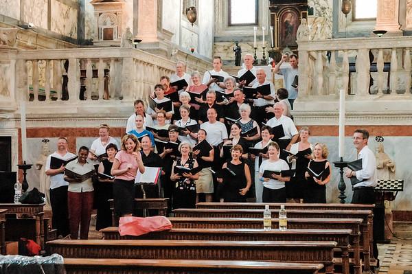 Music Mission Italy - Chiesa Miracoli, Venice, June 29