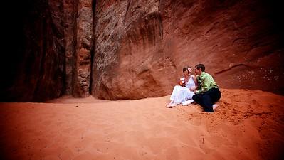Josh & Jan's Desert Wedding