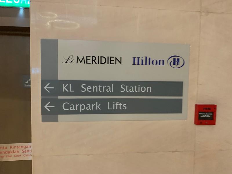 Hilton KL to KL Sentral Station