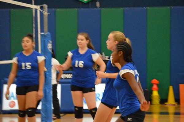 Seventh Grade Volleyball