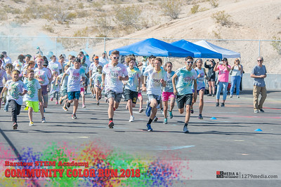 STEM Color Run 2018