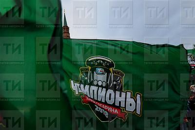 30.05.2018 Чемпионский автобус ХК Ак Барс (Ильнар Тухбатов)