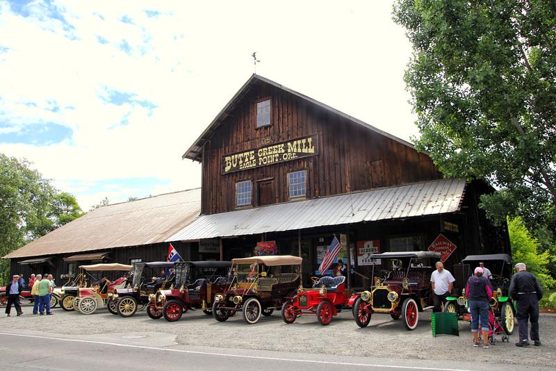 Pre-1915 Cars Butte Creek Mill  Eagle Point Oregon