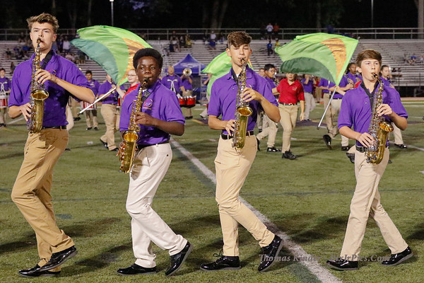 Band at West Potomac Football Game 8/29/19
