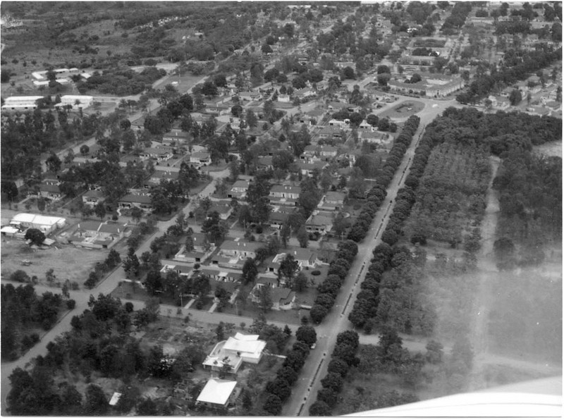 Avenida do Obelisco - vista aérea