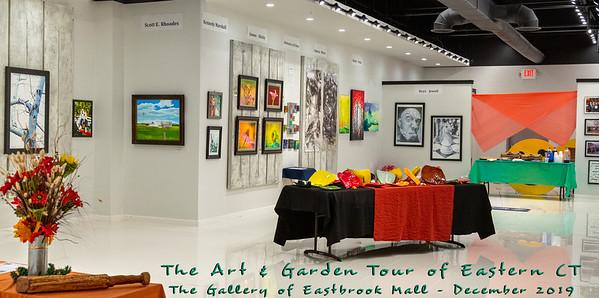 """""""The Art & Garden Tour"""", Dec. 2019 Eastbrook Mall Gallery"""