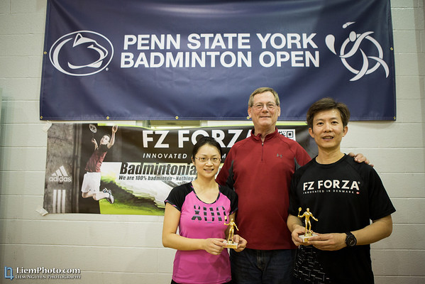 2013.12.XX | PSU-York Badminton Winter Open [Official]