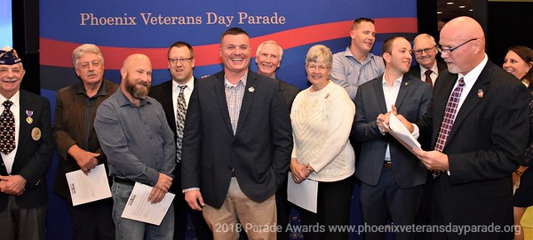 2018 Phoenix Veterans Day Parade Victory Party