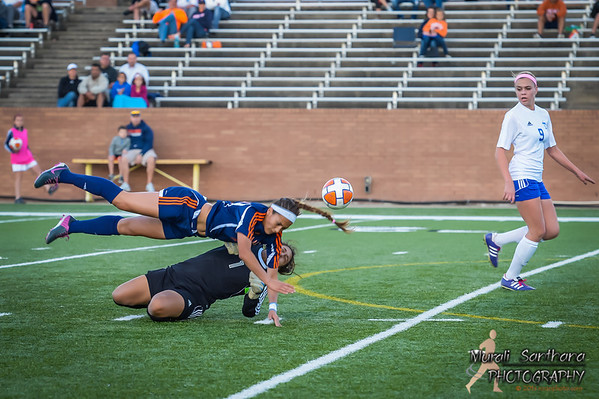04-08-2014 - 2013-14 UIL Girls Soccer State Championships - Seven Lakes vs Taylor