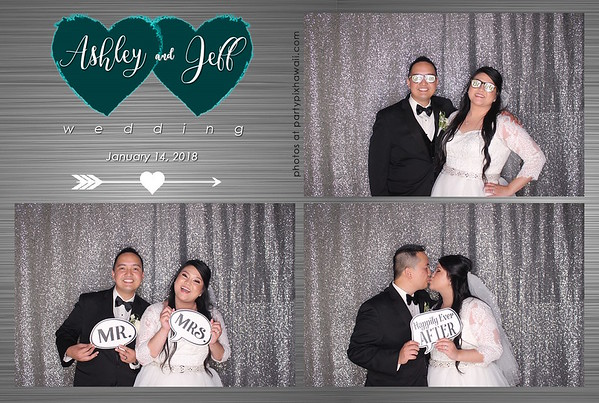 Ashley & Jeff's Wedding (LED Open Air Photo Booth)