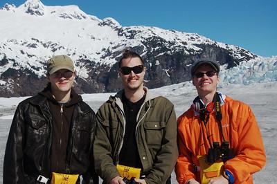 Family in Alaska
