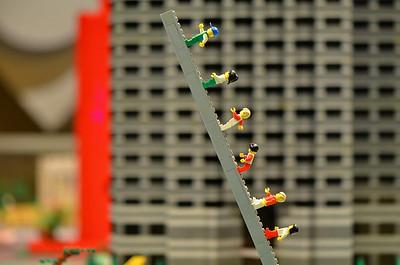 Dallas Rendered in Lego