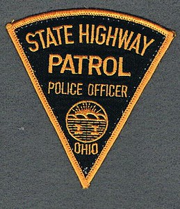 Ohio SHP Police Officer